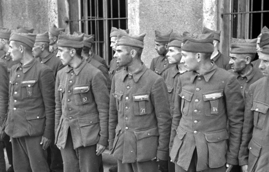 Het kamp van Breendonk op 16 juni 1941, Otto Kropf, coll. Spronk. Brussel CegeSoma